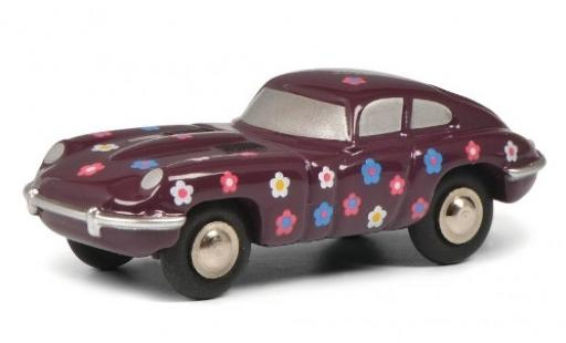 Jaguar E-Type 1/90 Schuco Happy Birthday miniature
