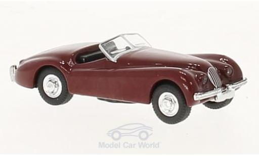 Jaguar XK 120 1/87 Schuco red diecast model cars