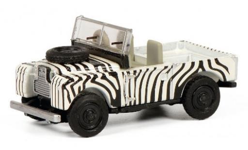 Land Rover 88 1/87 Schuco blanche/noire RHD miniature