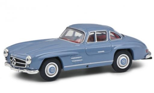 Mercedes 300 1/64 Schuco SL blue 1954 diecast model cars