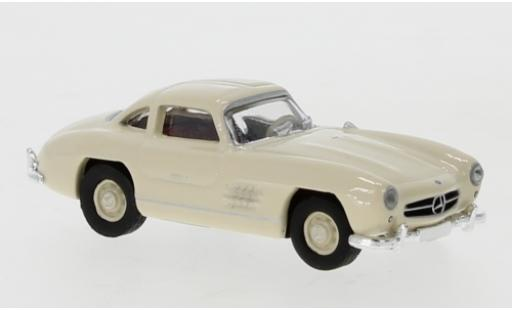 Mercedes 300 1/87 Schuco SL Coupe beige diecast model cars