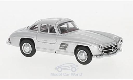 Mercedes 300 SL 1/64 Schuco Coupe (W198) grey diecast model cars