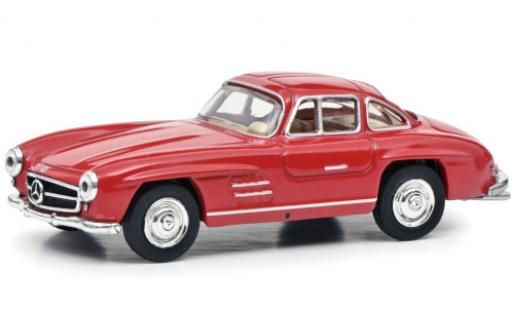 Mercedes 300 1/64 Schuco SL (W198) red Paperbox Edition diecast model cars