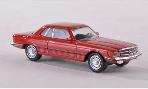 Mercedes 450 1/87 Schuco SLC (C107) rouge miniature