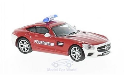 Mercedes AMG GT 1/87 Schuco S Feuerwehr miniature