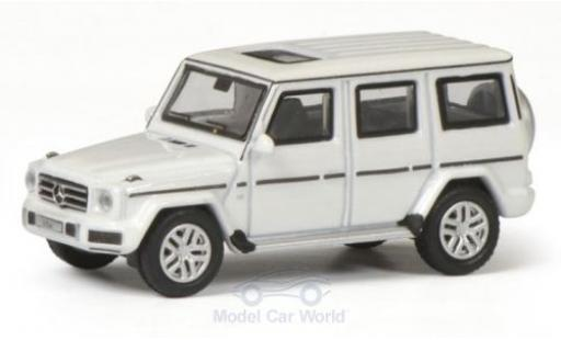 Mercedes Classe G 1/87 Schuco white diecast model cars