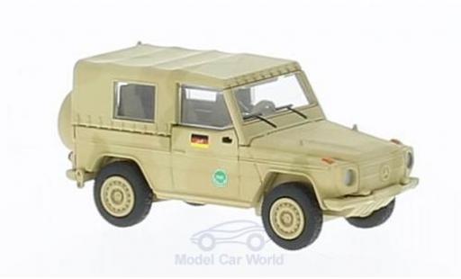 Mercedes Classe G 1/87 Schuco G matt-beige ISAF miniature