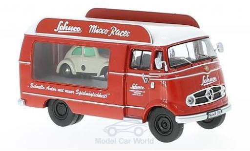 Mercedes L319 1/43 Schuco Schuco Micro Racer Werbewagen mit Piccolo Volkswagen Käfer diecast model cars