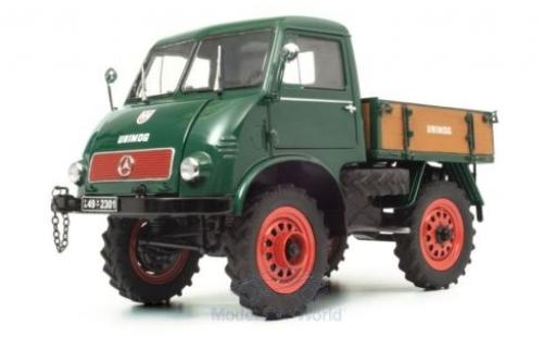 Mercedes Unimog 1/18 Schuco 401 green 1953 diecast model cars