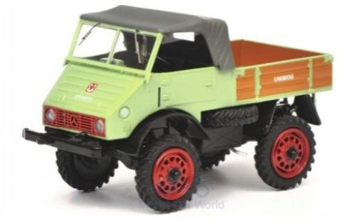 Mercedes Unimog 1/43 Schuco 401 green diecast model cars