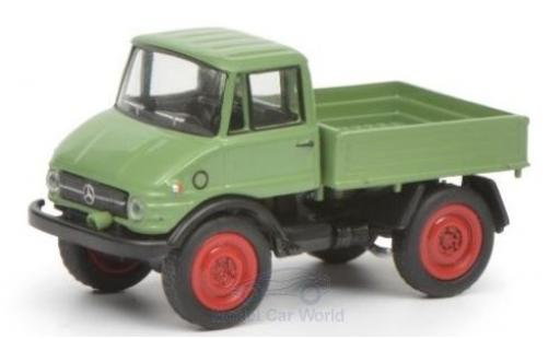 Mercedes Unimog 1/87 Schuco 406 green diecast model cars