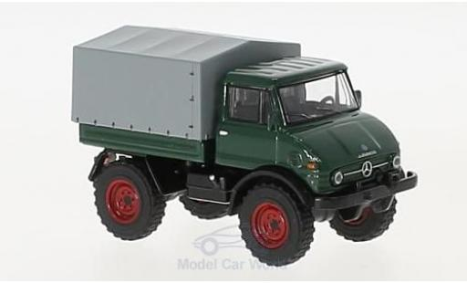 Mercedes Unimog 1/64 Schuco U406 green diecast model cars
