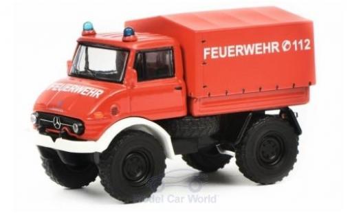 Mercedes Unimog 1/64 Schuco U406 Feuerwehr miniature