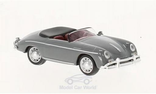 Porsche 356 A 1/87 Schuco A Speedster grise miniature