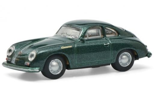 Porsche 356 1/87 Schuco A metallise green diecast model cars