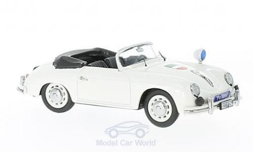 Porsche 356 A 1/43 Schuco A Polizei NRW miniature
