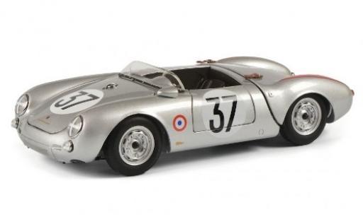 Porsche 550 1/18 Schuco Spyder No.37 KG 24h Le Mans 1955 H.Polensky/R.von Frankenberg modellino in miniatura