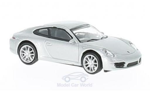 Porsche 991 S 1/87 Schuco 911  Carrera grey diecast model cars