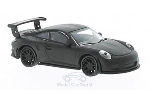 Porsche 991 GT3 RS 1/87 Schuco 911  matt-noire miniature