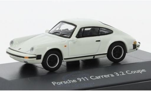Porsche 911 SC 1/87 Schuco Carrera 3.2 Coupe blanco coche miniatura