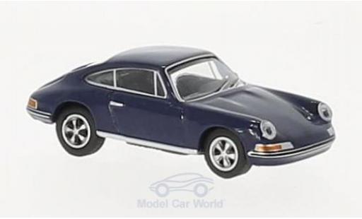 Porsche 911 SC 1/87 Schuco S Coupe bleue miniature