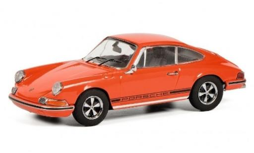 Porsche 911 1/43 Schuco S orange/Dekor miniature