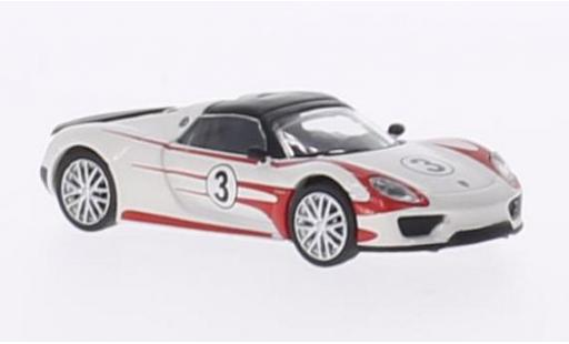 Porsche 918 1/87 Schuco Spyder Salzburg Racing Design diecast model cars