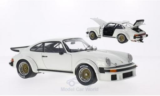 Porsche 934 1/18 Schuco RSR white diecast model cars