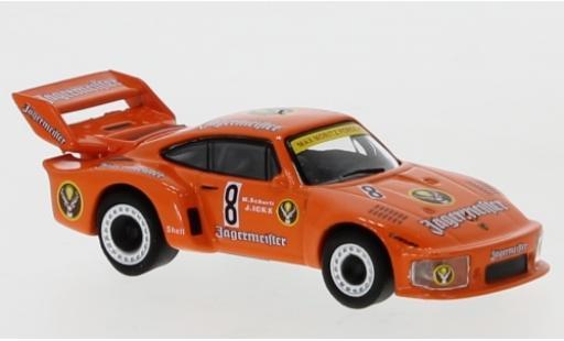 Porsche 935 1/87 Schuco No.8 Max Moritz Jägermeister M.Schurti/J.Ickx coche miniatura