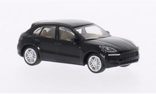 Porsche Macan S 1/87 Schuco noire miniature