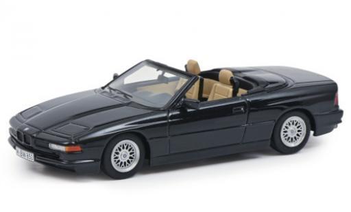 Bmw 850 1/43 Schuco ProR Ci Cabriolet metallise black diecast model cars