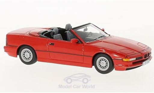 Bmw 850 1/43 Schuco ProR Ci Cabriolet red diecast model cars