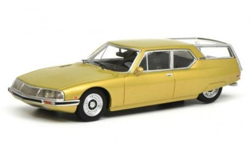 Citroen SM 1/18 Schuco ProR Shooting Brake gold 1970 diecast model cars