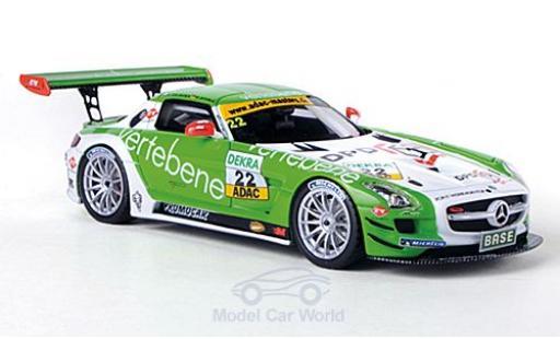 Mercedes SLS 1/43 Schuco ProR AMG GT3 No.22 MS Racing Vertebene ADAC GT Masters 2011 /F.Stoll miniature