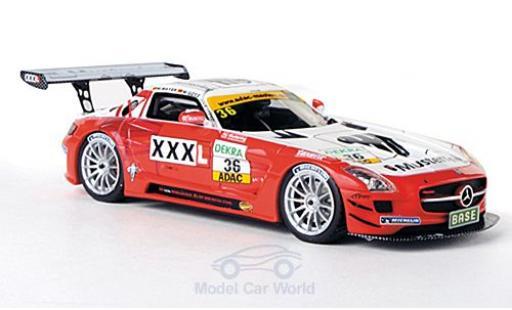 Mercedes SLS 1/43 Schuco ProR AMG GT3 No.36 MS Racing Musterring ADAC GT Masters 2011 M.Mayer/M.Götz miniature