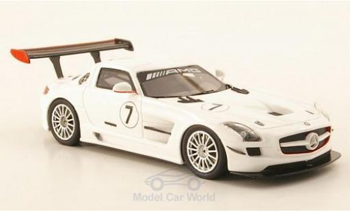 Mercedes SLS 1/43 Schuco ProR AMG GT3 No.7 2010 diecast model cars