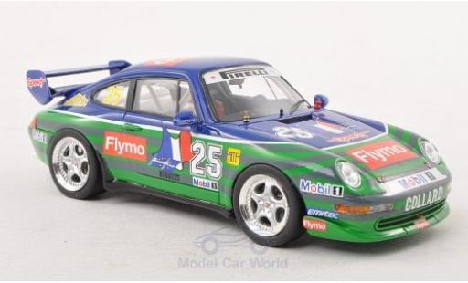 Porsche 993 SC 1/43 Schuco ProR (993) Cup No.25 Supercup 1996 E.Collard miniature