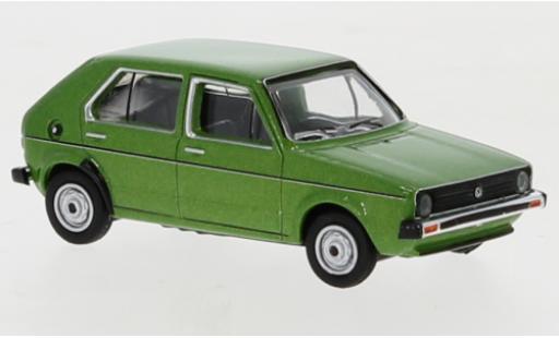 Volkswagen Golf 1/87 Schuco I green diecast model cars