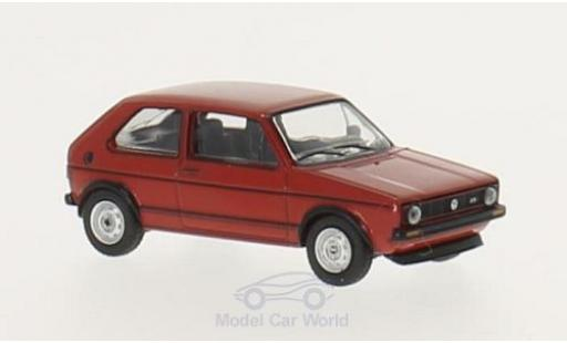 Volkswagen Golf 1/64 Schuco I GTI red diecast model cars