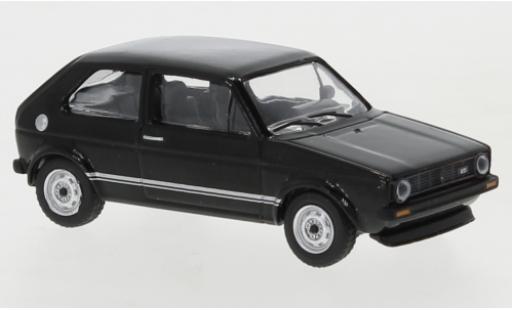 Volkswagen Golf 1/64 Schuco I GTI black 1976 diecast model cars