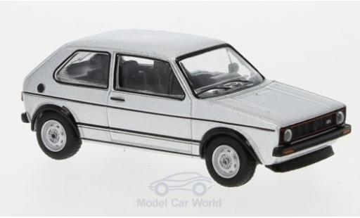 Volkswagen Golf V 1/64 Schuco I GTI grey 1976 diecast model cars