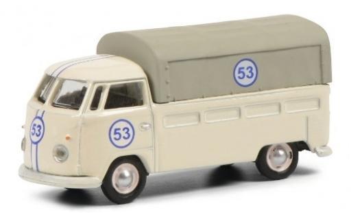 Volkswagen T1 1/87 Schuco Pritsche No.53 modellino in miniatura