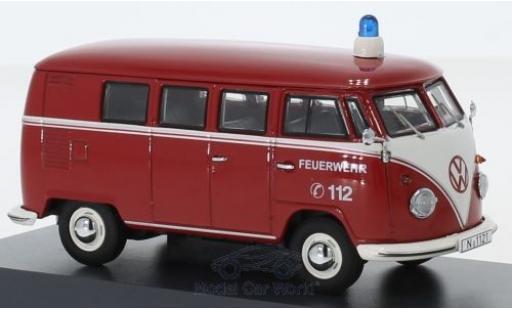 Volkswagen T1 1/43 Schuco b Bus Feuerwehr modellautos