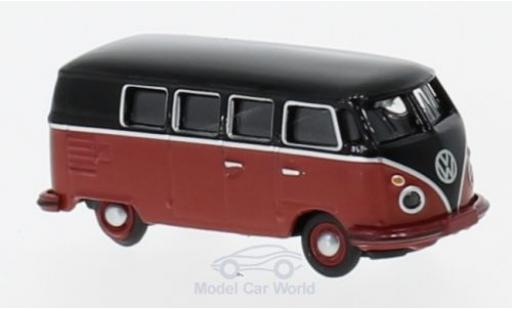 Volkswagen T1 B 1/87 Schuco c us black/red diecast model cars