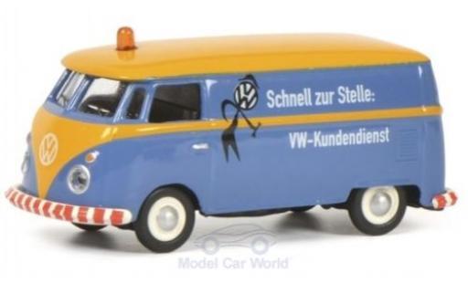 Volkswagen T1 1/87 Schuco c Kasten Kundendienst diecast