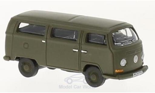 Volkswagen T2 B 1/87 Schuco us undeswehr modellino in miniatura