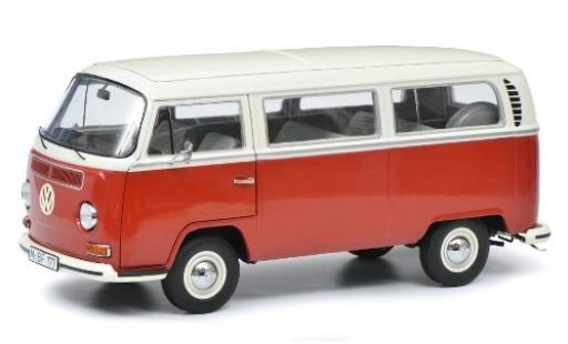 Volkswagen T2 1/18 Schuco a Bus L red/white diecast model cars