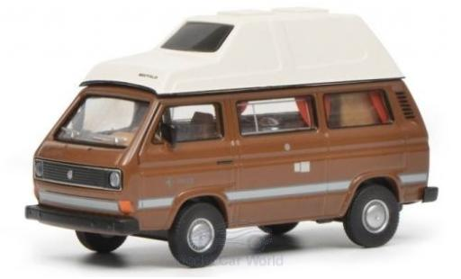 Volkswagen T3 1/64 Schuco Joker brown/white diecast model cars