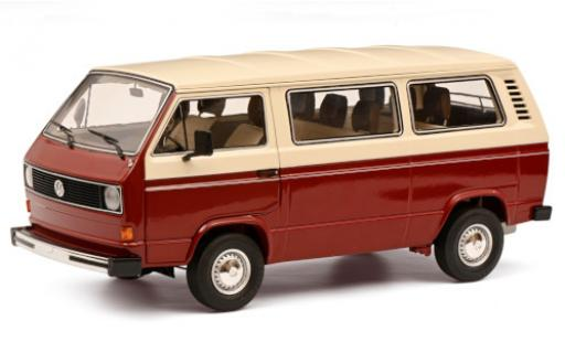 Volkswagen T3 1/18 Schuco a Bus red/white diecast model cars
