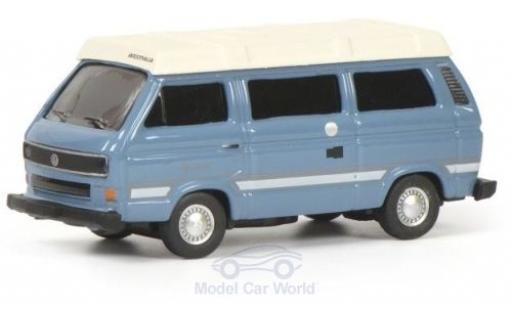 Volkswagen T3 1/87 Schuco b Westfalia Joker bleue/blanche miniature